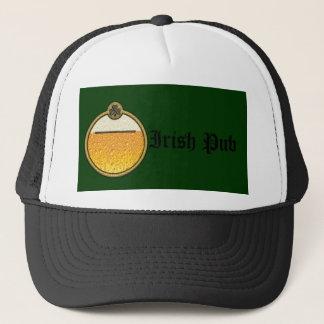 Stylish  Irish Pub beer logo Trucker Hat