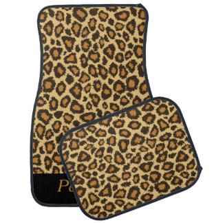 Stylish Jaguar Pattern   Personalize Car Mat