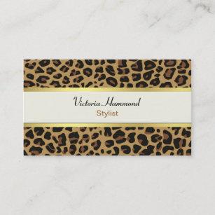 Jaguar business cards business card printing zazzle uk stylish jaguar print business card reheart Images