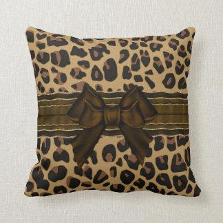 Stylish Jaguar Print Throw Pillow