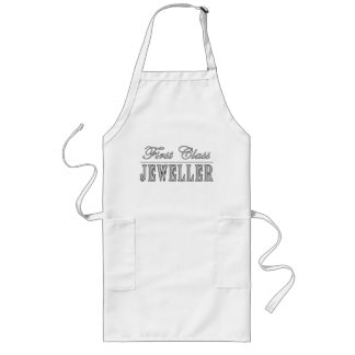 Stylish Jewellers : First Class Jeweller Long Apron