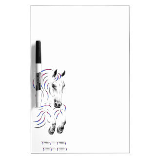 Stylish Jumping Jumper Horse Dry Erase Board