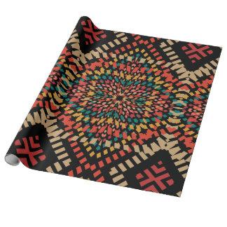 Stylish Kaleidoscope Wrapping Paper