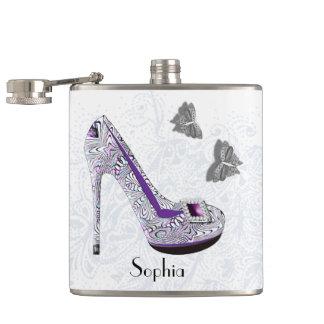 Stylish Killer Heels Personalized Hip Flask