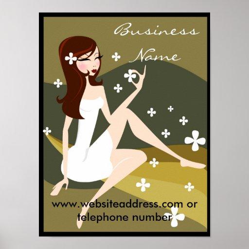 Stylish Lady - Promotional Poster/Print