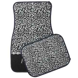 Stylish Leopard Animal Print | Personalize Floor Mat