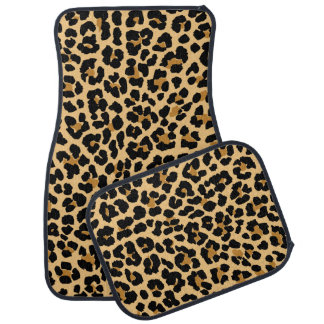 Stylish Leopard Print Car Mats