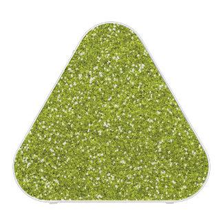 Stylish Lime Green Glitter
