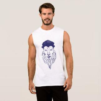 Stylish Lion Sleeveless Shirt
