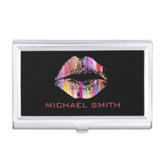 Stylish Lips #32 Business Card Holder