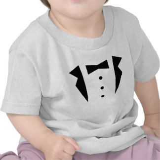 Stylish Little Gentleman Tuxedo With Black Bow Tie Shirt