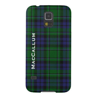 Stylish MacCallum Tartan Plaid Samsung S5 Case