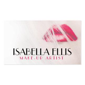 Stylish Make-up artist/Salon business card