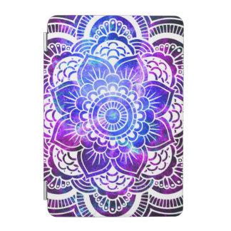 Stylish Mandala Galaxy Purple Blue iPad Mini Cover