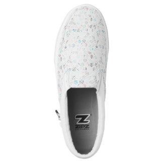 Stylish marble Slip-On shoes