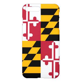 Stylish Maryland State Flag Decor iPhone 7 Plus Case