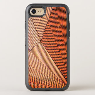 Stylish Men's business Professional Style Wooden OtterBox Symmetry iPhone 8/7 Case