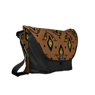 Stylish Messenger Bag, Brown, Black, Green Commuter Bags