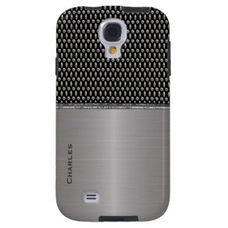 Stylish Metallic Look Samsung Galaxy S4 Case