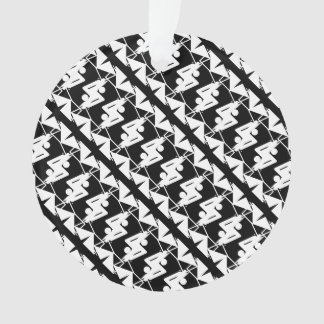 Stylish Mirrored Geometric & Abstract Pattern Ornament