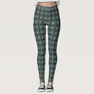 Stylish-Mod-Gray-Roses'-Everyday- LEGGING'S_XS-XL Leggings