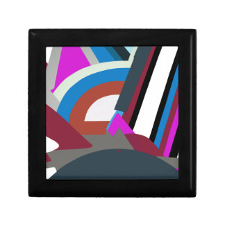 Stylish Modern Abstract Art Gift Box