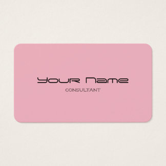Stylish Modern Business Cards (Pink UV)