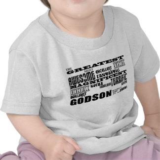 Stylish Modern Fun Godsons Greatest Godson Shirt