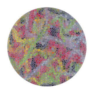 Stylish modern mosaic pattern cutting board