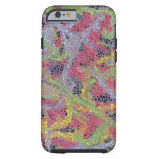 Stylish modern mosaic pattern tough iPhone 6 case