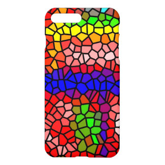Stylish mutlicolored stained glass iPhone 8 plus/7 plus case