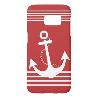 Stylish Nautical Red Design