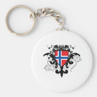 Stylish Norway Key Ring