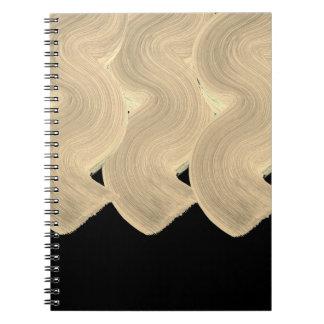 Stylish office designers Block / Ladies diary Spiral Notebook