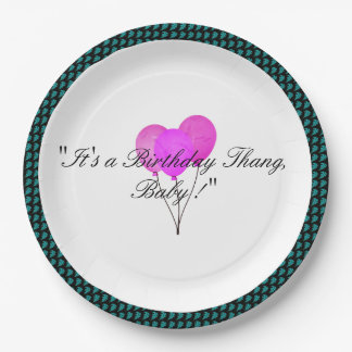 Stylish-Party-Balloon-Leaves-Celebration_Birthday Paper Plate