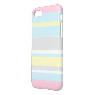 Stylish Pastel Colors Stripes IPhone 8/7 Case