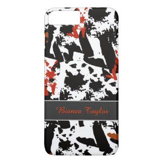 stylish & personalized cat pattern iPhone 7 plus case