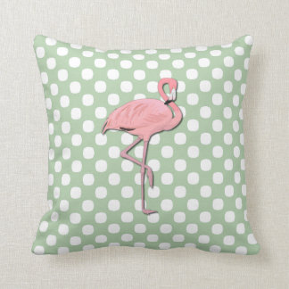 Stylish Pink Flamingo Pillow