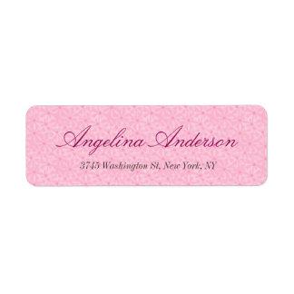 Stylish Pink Pattern Handwriting Modern Feminine