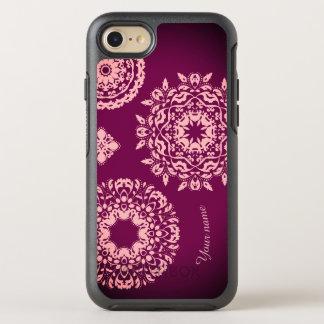 Stylish pink purple OtterBox symmetry iPhone 8/7 case