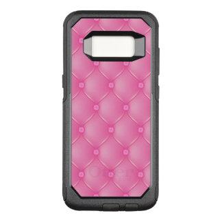 Stylish Pink Upholstery Pattern OtterBox Commuter Samsung Galaxy S8 Case