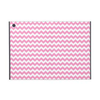 Stylish pink zig zags zigzag chevron pattern cover for iPad mini