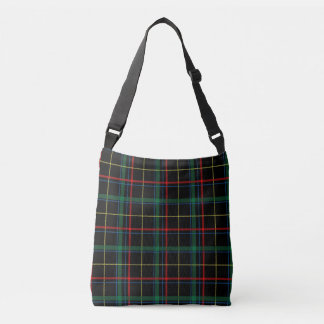 stylish plaid checks crossbody bag