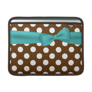 Stylish Polka Dot Macbook Sleeve