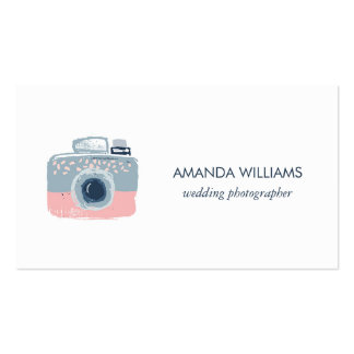 Stylish Professional Wedding Photographer Pack Of Standard Business Cards