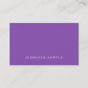 Purple linen business cards business card printing zazzle uk stylish purple modern premium linen luxury business card reheart Image collections