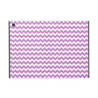 Stylish purple zig zags zigzag chevron pattern cases for iPad mini