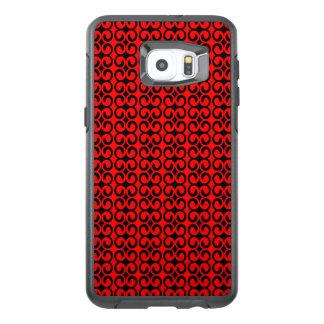Stylish Red and Black Pattern