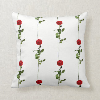 Stylish Red Rose Cushion
