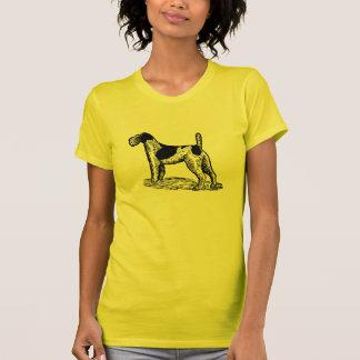 Stylish Retro Fox Terrier Tee Shirt